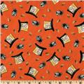 Alice In Wonderland Top Hats Tangerine
