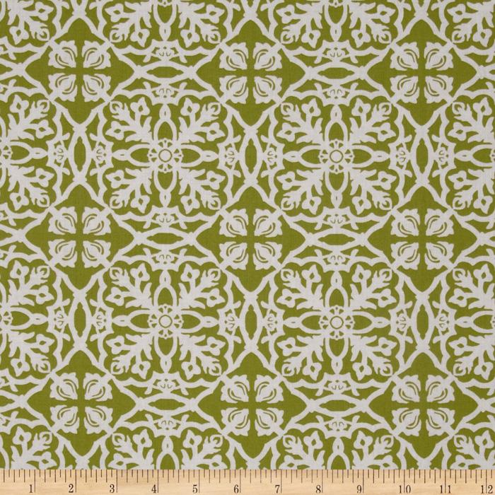 Winter Song Mosaic Green