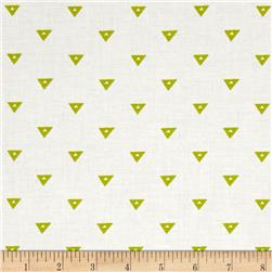 Go Big or Go Home Triangles Pea Green