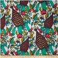 The Garden of Earthly Delights Pineapple Teal