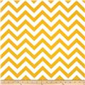 Premier Prints Indoor/Outdoor ZigZag Yellow