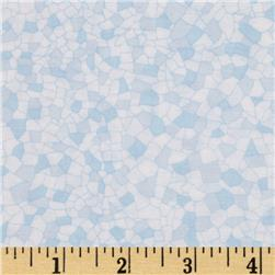 Barcelona Mosaic Small Tile Blue/White