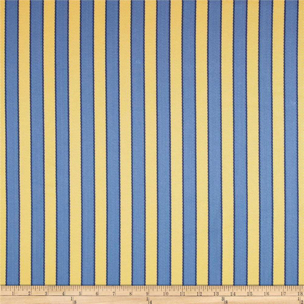 Robert Allen Promo Outdoor Deck Chair Stripe Day