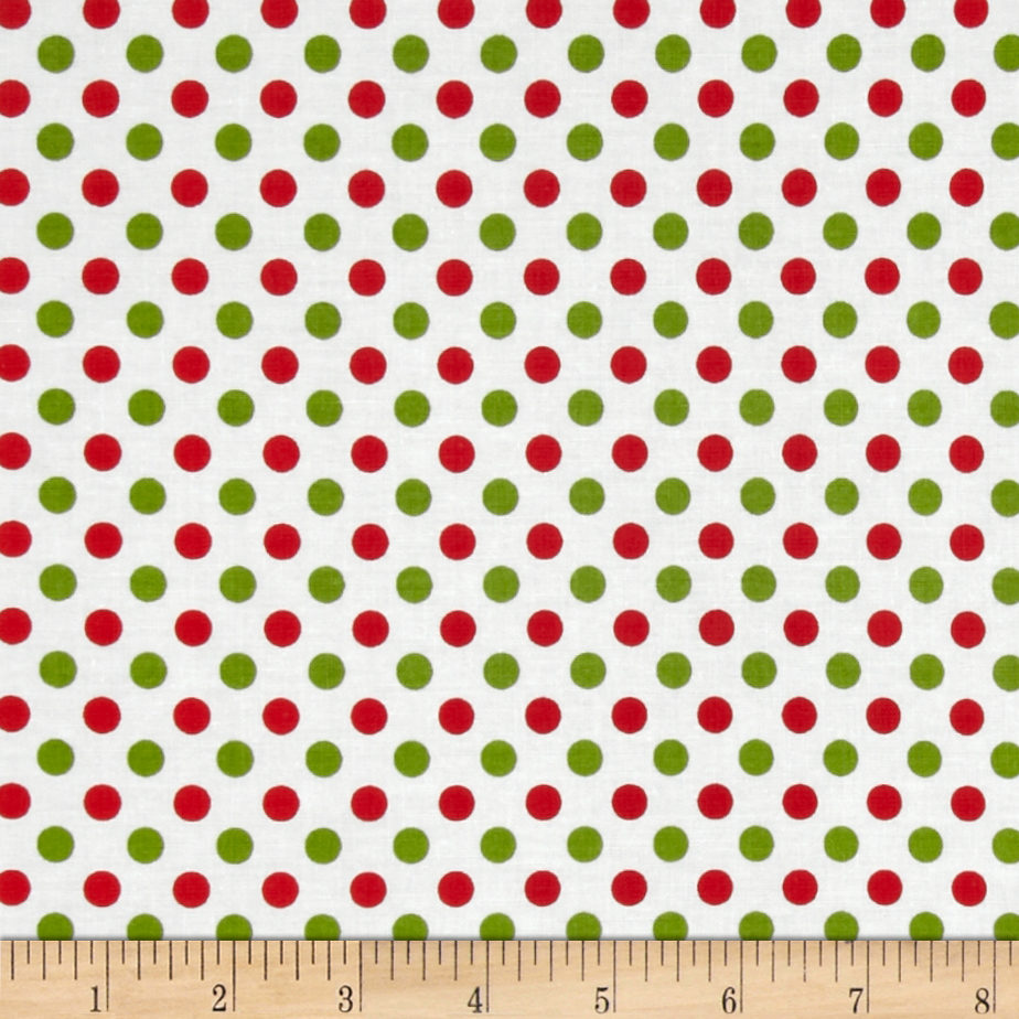 Riley Blake Christmas Basics Small Dots Christmas
