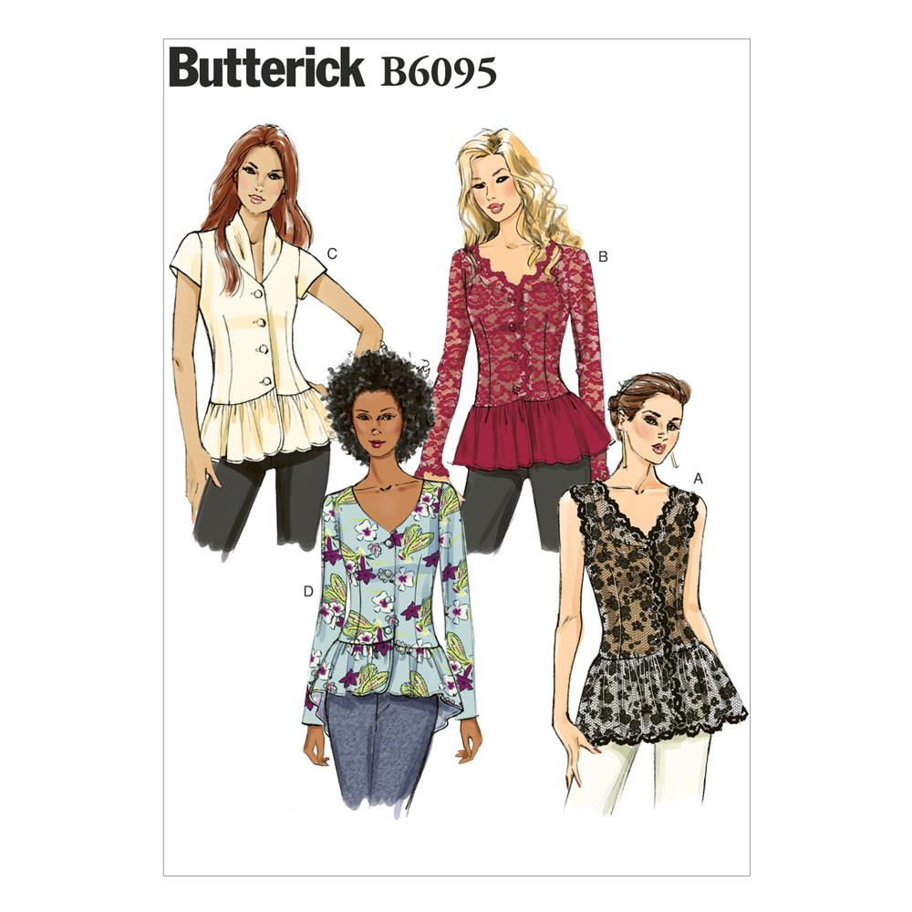 Butterick Misses' Top Pattern B6095 Size A50