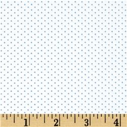 Kaufman Sevenberry Petite Basics Mini Dot Blue
