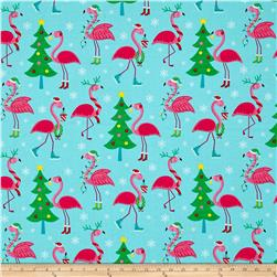 Frosty Flamingo Flamingos Bright