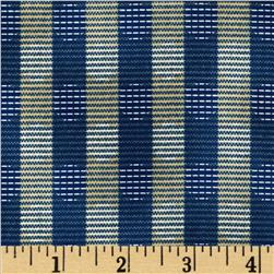 Jeanne Horton The Settlement Collection Stripe Blue