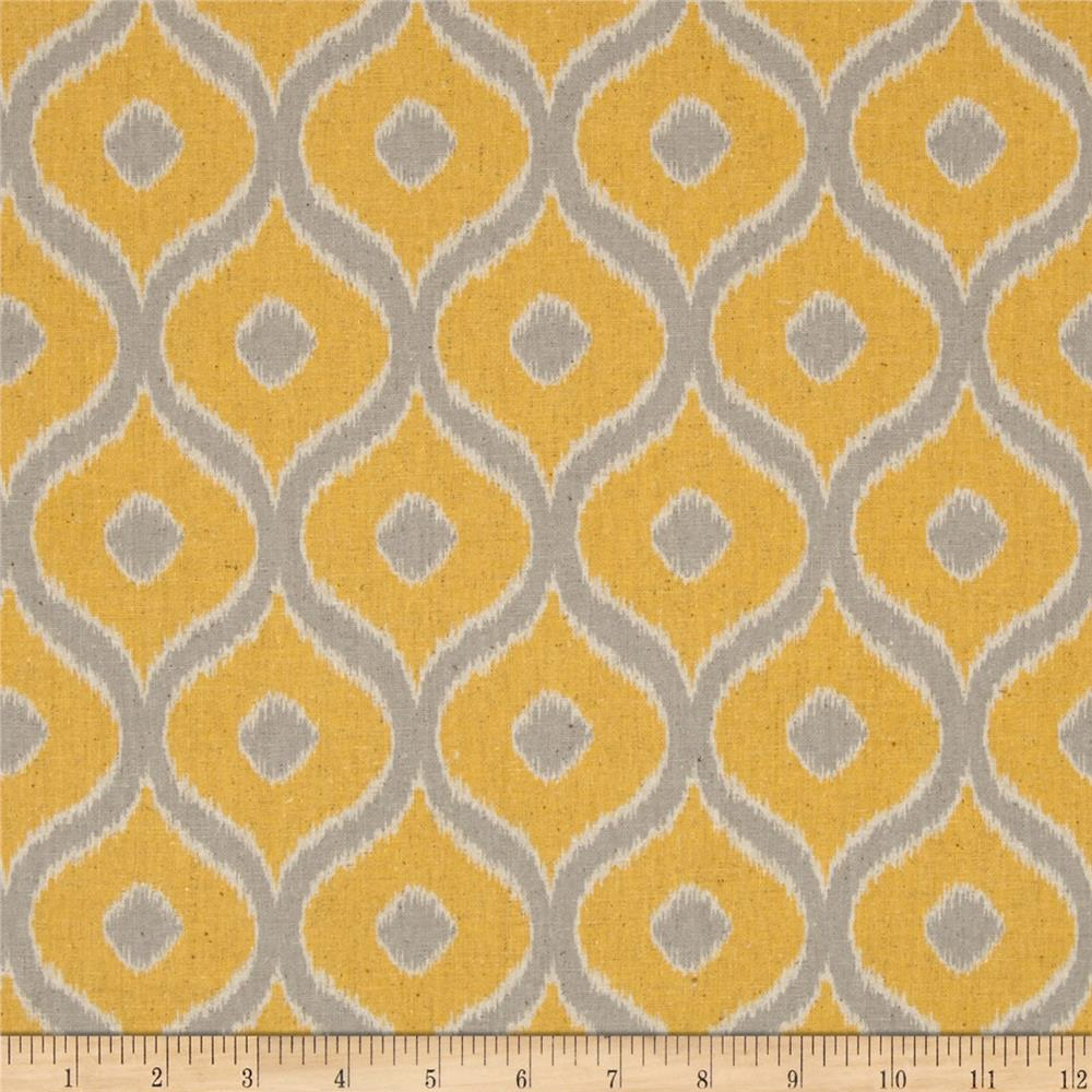 Moda Mixologie Home Decor Linen Blend Cosmopolitan Banana/Steel