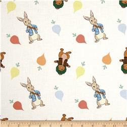 Peter Rabbit Rabbits & Radishes Toss Lt. Blue