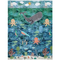 "Wilmington Under the Ocean Blue Scenic 24"" Panel Multi"