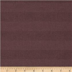 Designer Suiting Glen Plaid Mauve