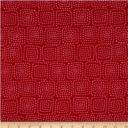 Michael Miller Stitch Square Berry