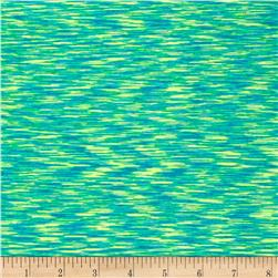 Strata Athletic Knit Turquoise/Lime