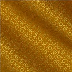 Plume Abstract Gold