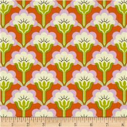 Heather Bailey True Colors Pop Blossom Persimmon Fabric