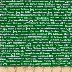 Bread & Butter Joy Words Green