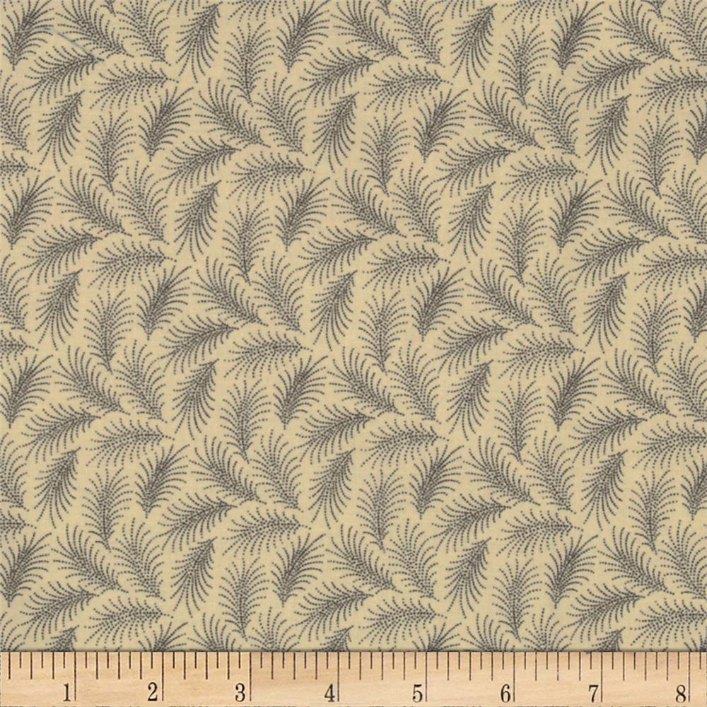 Downton Abbey Dowager Countess Small Branches Tan