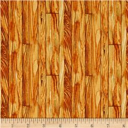 Fall Retreat Wood Planks Brown