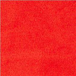 Plush Coral Fleece Ruby