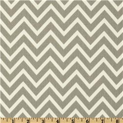 Premier Prints Cosmo Chevron Twill Storm Fabric