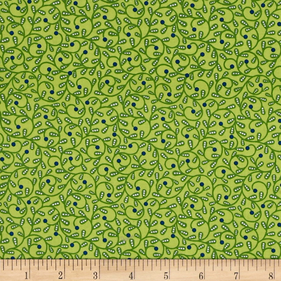 INOpets.com Anything for Pets Parents & Their Pets Bree Swirl Green Fabric