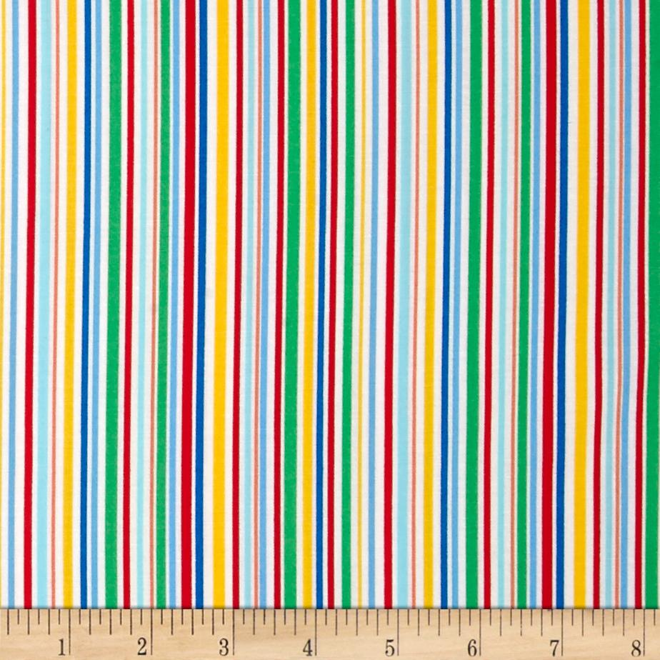 Michael Miller Novelties Slender Stripe Primary
