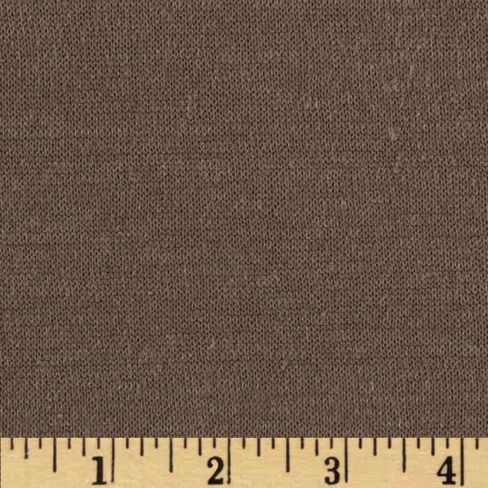 Capri Linen Jersey Knit Brown