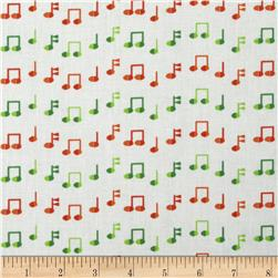 Jazz Between Friends Notes Adventure Fabric