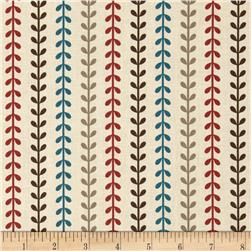 Provence & Beyond Vine Stripes Cream/Multi