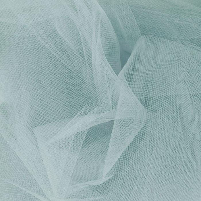108'' Wide  Nylon Tulle Williamsburg Blue