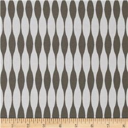 Riley Blake Mod Studio Stripe Grey