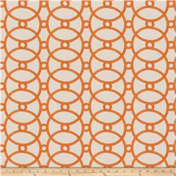 Isabelle De Borchgrave Courtship Basketweave Orange Blossom