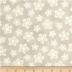 Lecien Yuletime Cozy Christmas Poinsettia Taupe