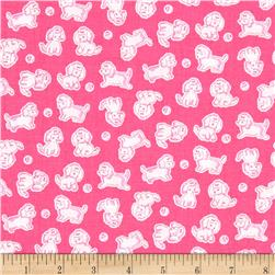 Penny Rose Strawberry Biscuit Poodle Hot Pink