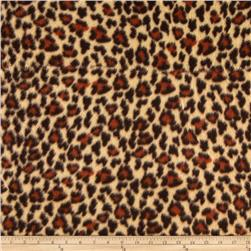 Fleece Cheetah Rust