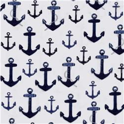 Kaufman Down By The Sea Anchors Navy