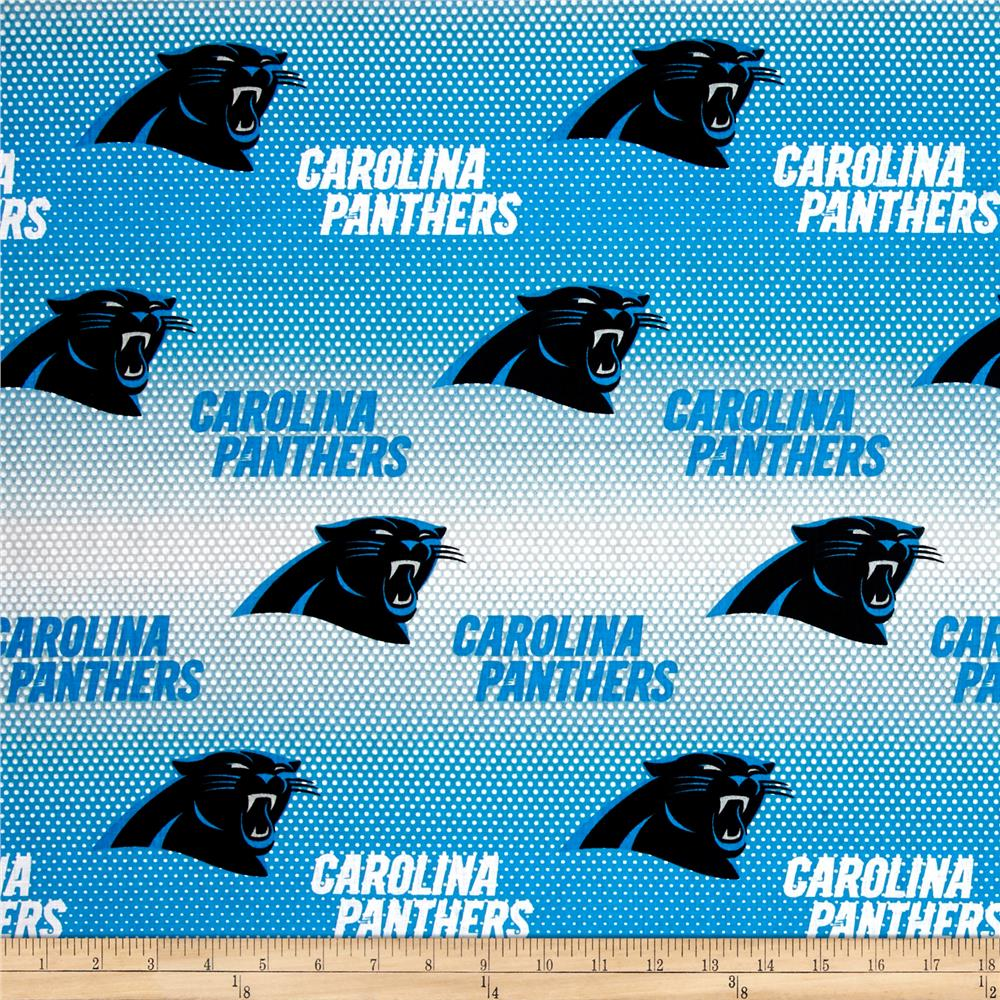 NFL Cotton Broadcloth Carolina Panthers Blue White - Discount ... 52bac040f