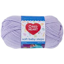 Red Heart Yarn Soft Baby Steps 9590 Lavender