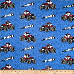 Case IH Kid's Denim Allover Blue Fabric
