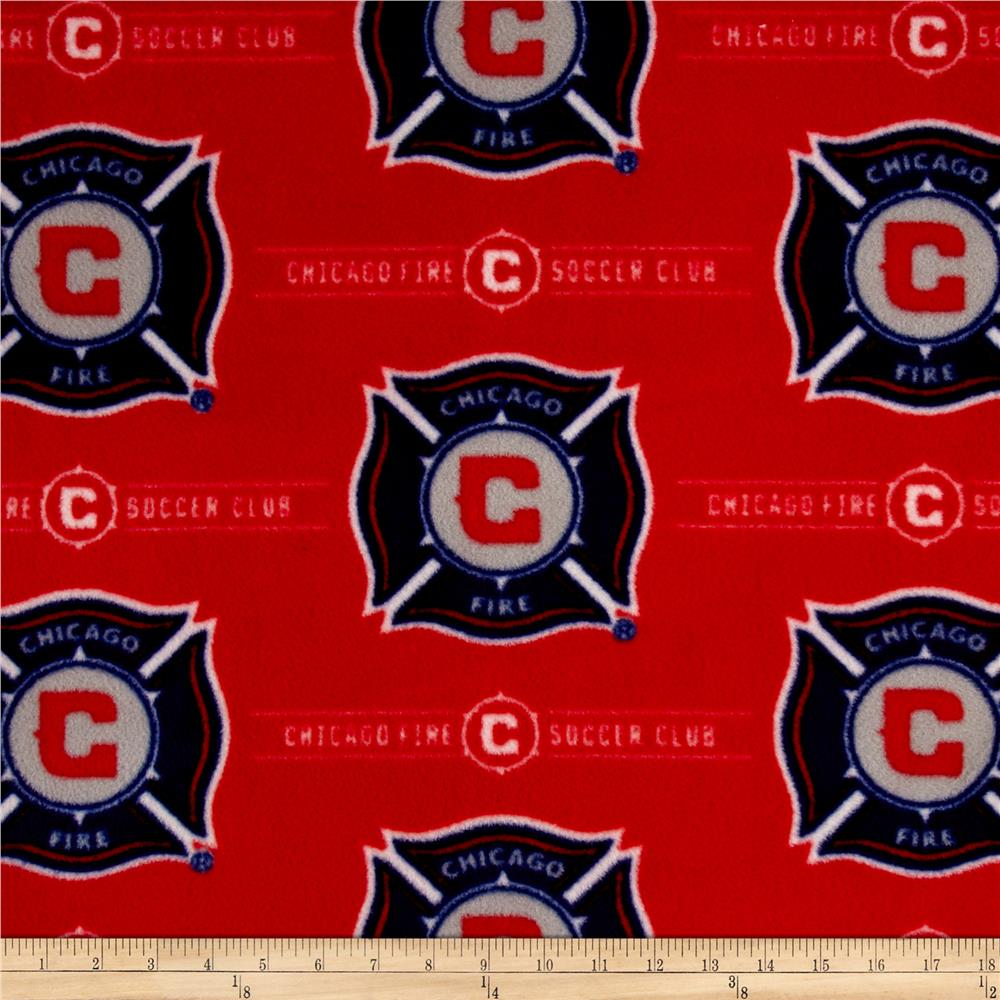 MLS Fleece Chicago FC Red