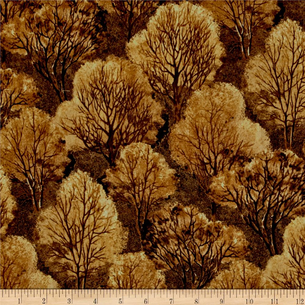 Quail Trees Brown