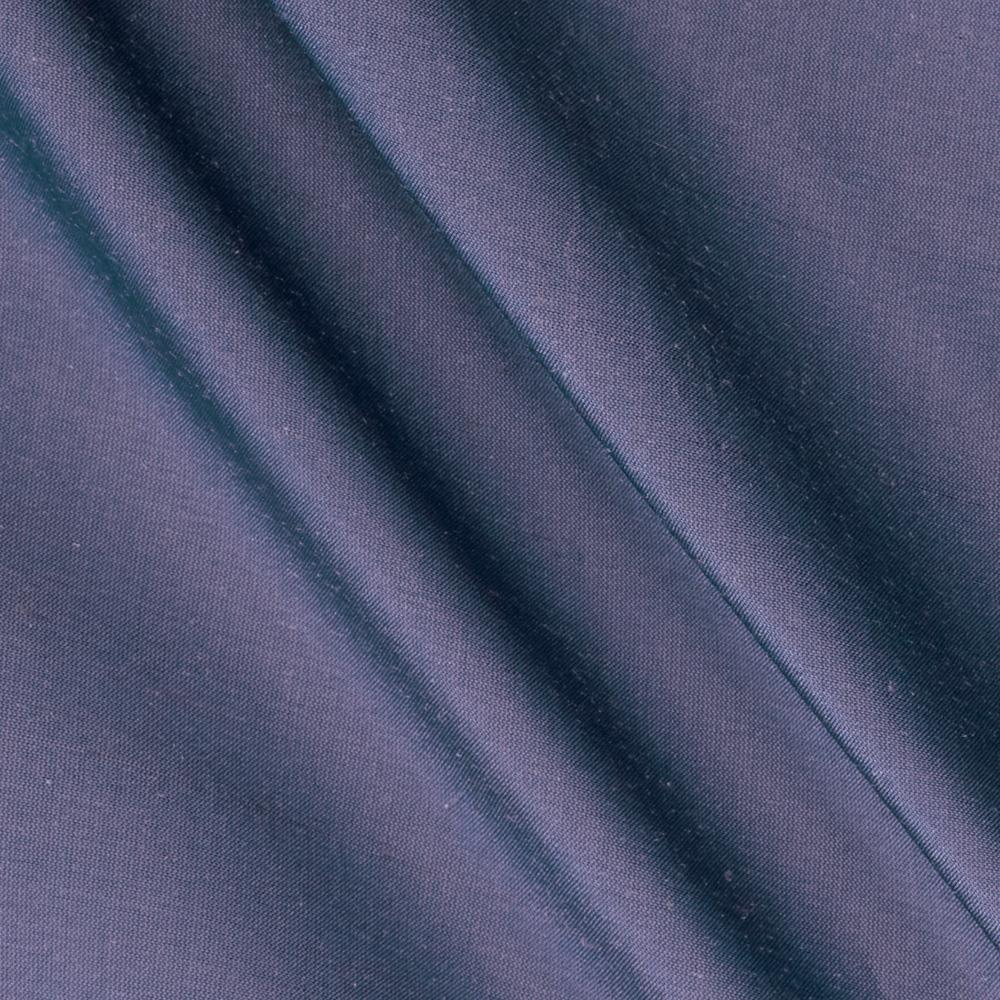 Dupioni Silk Fabric Iridescent Cadet Blue