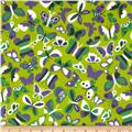 Let's Play Dolls Tossed Butterflies Green/Purple