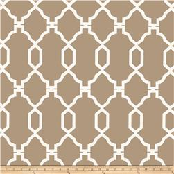 World Wide Cities Beige Fabric