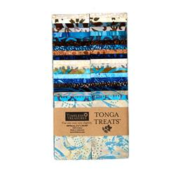 "Timeless Treasures Tonga Batik Treats Capri 2.5"" Strips"