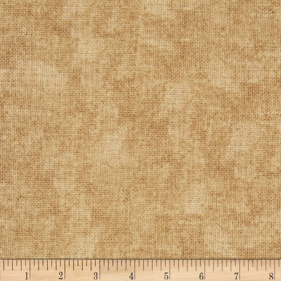 Timeless Treasures Burlap-Print Texture Burlap Fabric