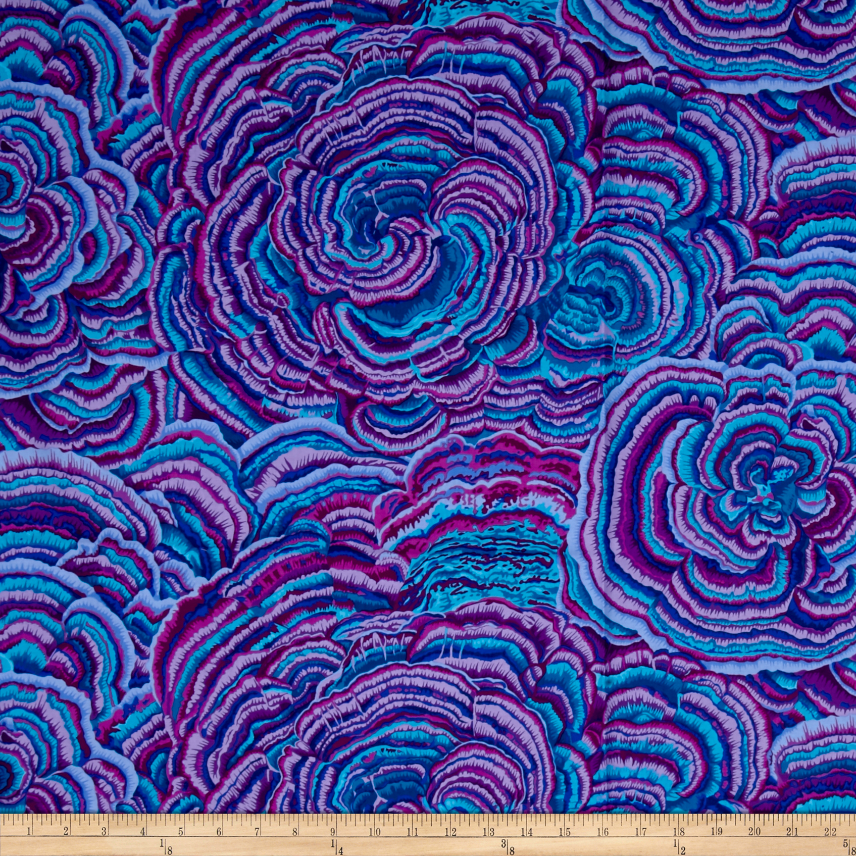 Philip Jacobs Tree Fungi Lavender Fabric by Westminster in USA