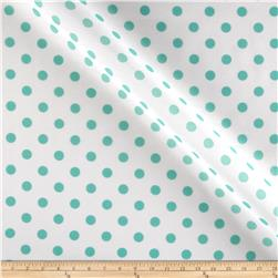 RCA Polka Dots Sheers Jade Green