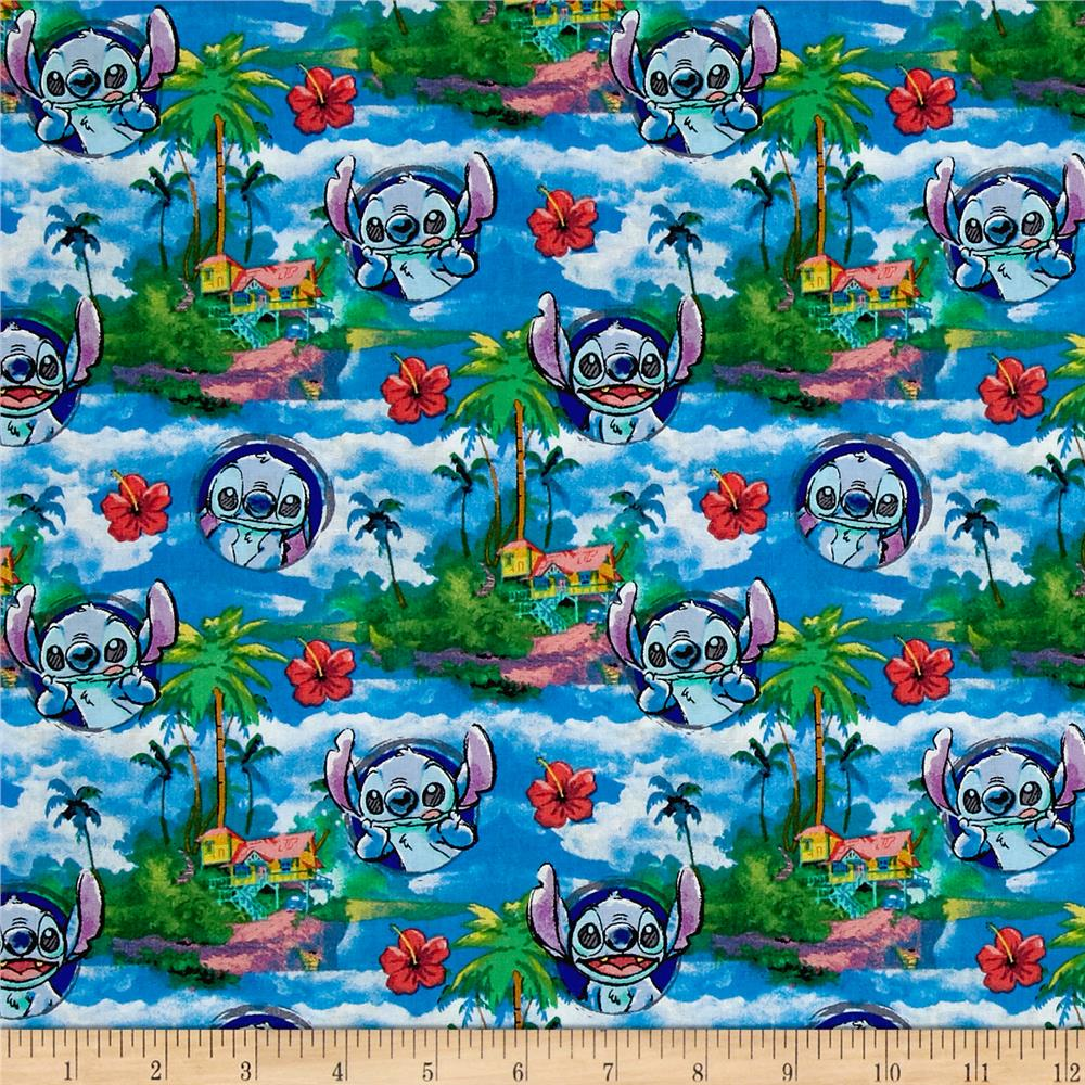 Disney Lilo and Stitch Hawaiian Nights Multi Bright